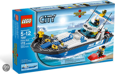 LEGO City Politieboot - 7287 in Schagen