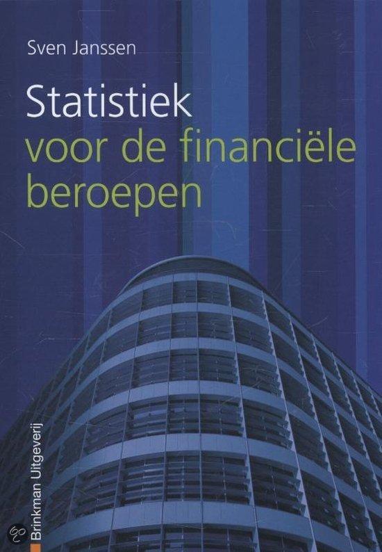 Statistiek voor de financiele beroepen