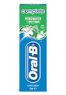 Oral-B Complete - Mondwater & Tandpasta - 75 ml - Tandpasta