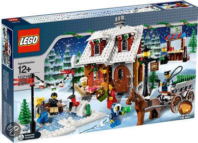 LEGO Winter Dorpsbakkerij - 10216 in Molenstraat