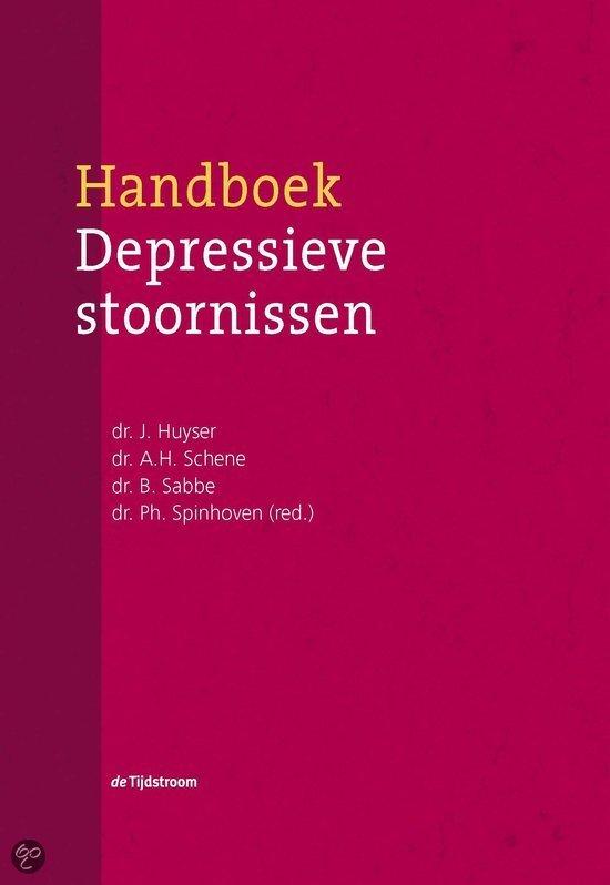 Handboek depressieve stoornissen / druk 1