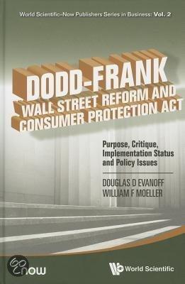 Dodd frank wall street reform and