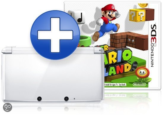 Nintendo 3DS - IJswit + Super Mario 3D Land
