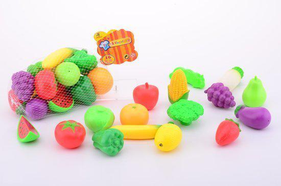Keukenspullen Winkel : bol.com Fruit en Groenten 16 stuks,Johntoy Speelgoed
