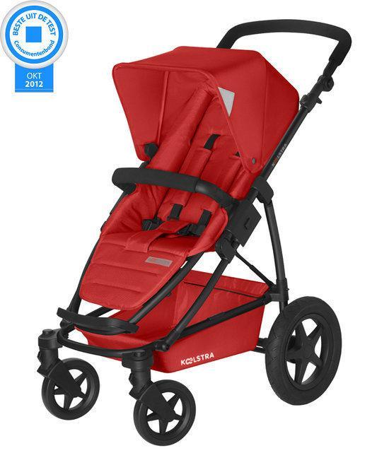 Koelstra Binque Daily - Kinderwagen inclusief Boodschappenmand - Rood