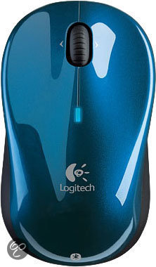 Logitech V 470 Cordless Laser Mouse Bluetooth blue