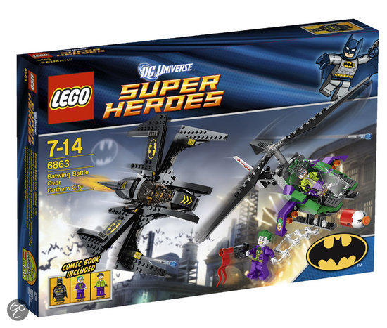 LEGO Batwing Battle Over Gotham City - 6863