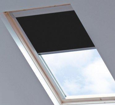 bloc verduisterend dakraamgordijn geschikt voor velux ggl sk06 jet black. Black Bedroom Furniture Sets. Home Design Ideas