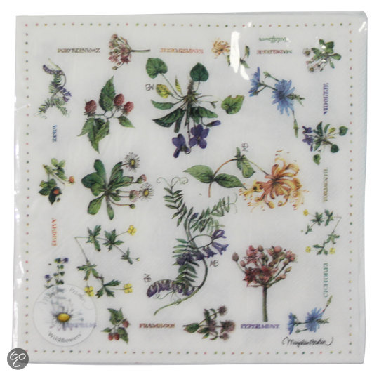 Marjolein Bastin Wildflowers - Servetten