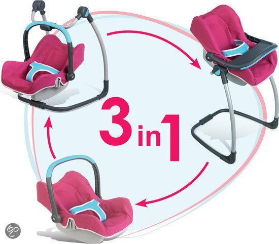 maxi cosi 3 in 1 poppenstoel simba toys speelgoed. Black Bedroom Furniture Sets. Home Design Ideas