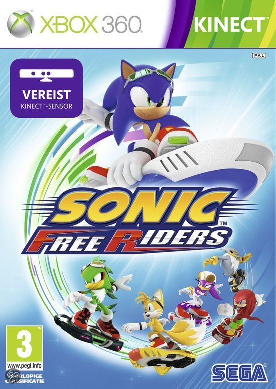Sonic Freeriders - Kinect