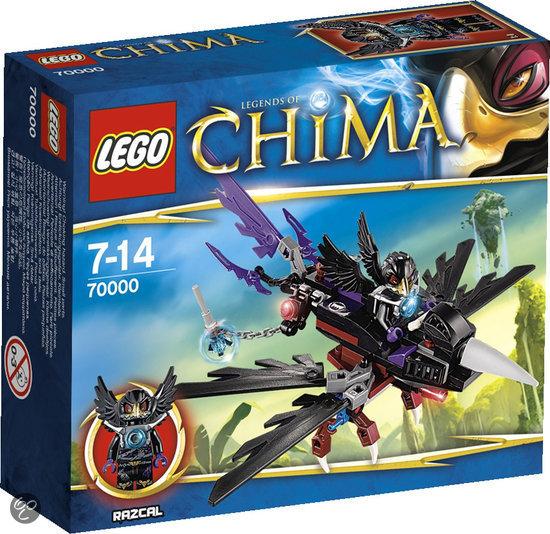 LEGO Chima Razcal's Glider - 70000