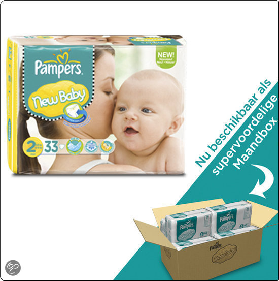 Pampers New Baby - Maat 2 Maandbox 240 st.