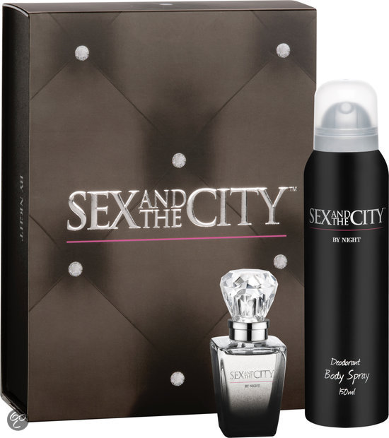 Sex and the City By Night for Woman - 2 delig - Geschenkset