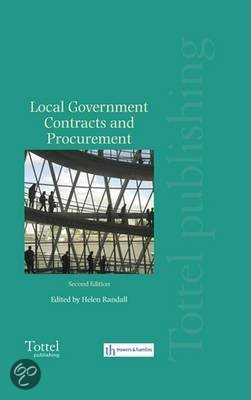 bol.com | Local Government Contracts And Procurement ...