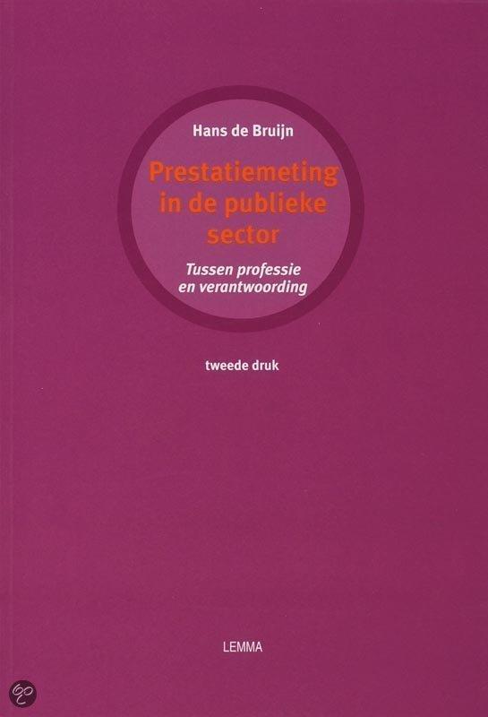 Prestatiemeting in de publieke sector