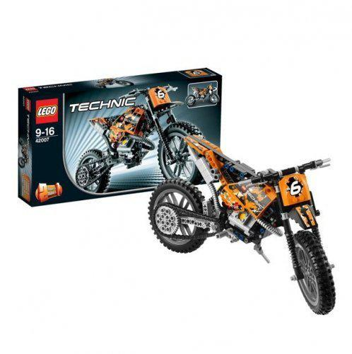 Lego Technic 42007 Crossmotor in Kilder