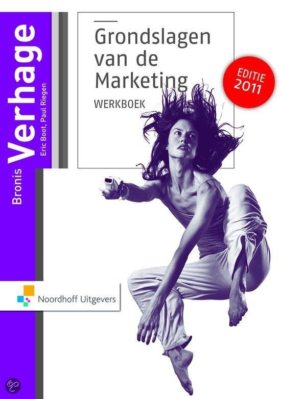 Grondslagen van de marketing  / deel Werkboek en cases