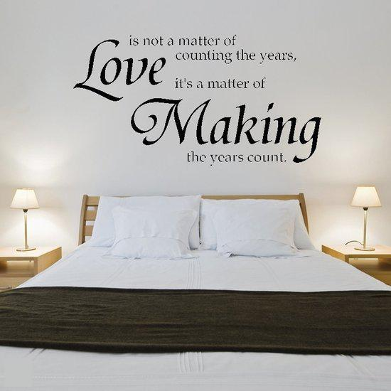 Bol Com Svejo Living Muurtekst Love Making