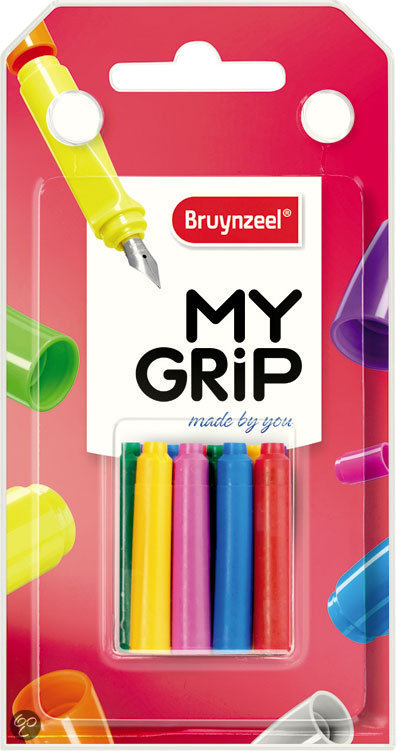 Bruynzeel My Grip Colourful Ink Inktpatronen