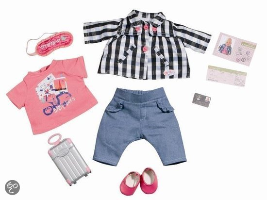 Baby Born Deluxe City Travel Set