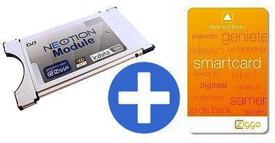 Neotion CAM module + Insteekkaart voor Ziggo digitale tv
