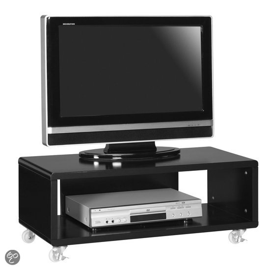 Woonexpress tv meubel bergen zwart wonen - Tv staan kleine ruimte ...