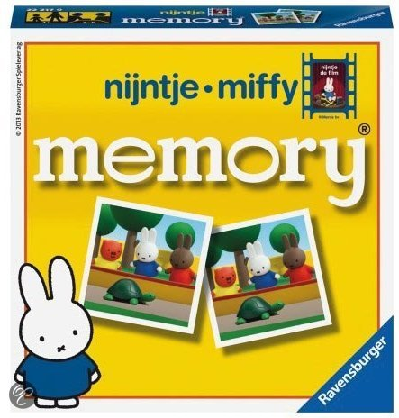 Ravensburger Nijntje De Film Mini Memory - Kinderspel