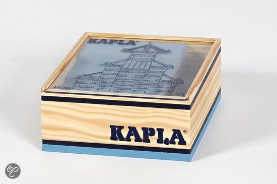 Kapla Box 40 Light Blue