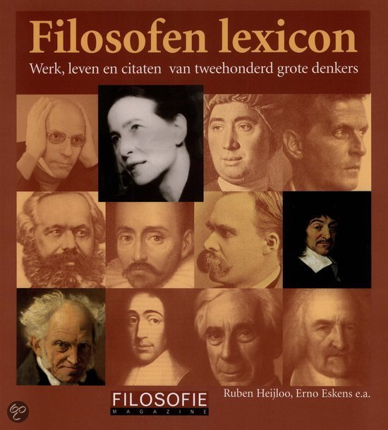 Citaten Filosofen : Bol filosofen lexicon rob heijloo