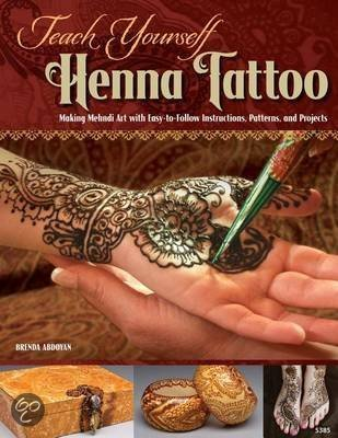 teach yourself henna tattoo brenda abdoyan