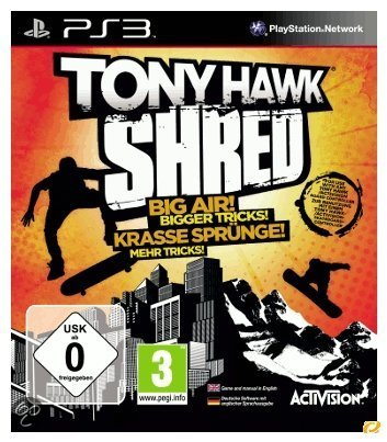 Tony Hawk, Shred Ps3