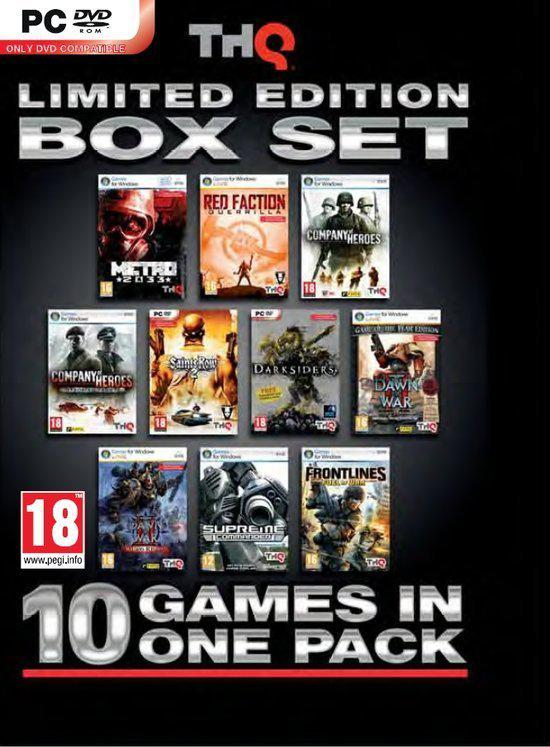 THQ Limited Edition Boxset - 10 Games in 1 Pack
