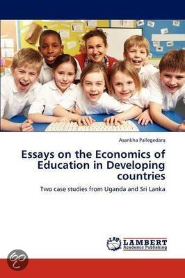 education developing countries essay Effects of globalisation on education and comparative educationthis essay will first aim to of education in developing countries are more complex.