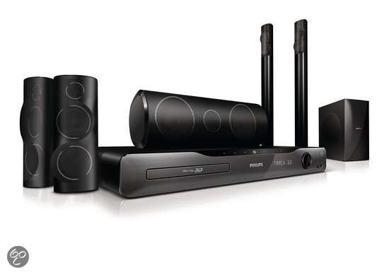 Philips HTS5582 - 5.1 home cinema set