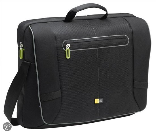Case Logic laptop Messengerbag Professioneel - 17 inch / Zwart
