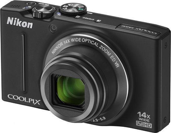 Nikon Coolpix S8200 - Zwart