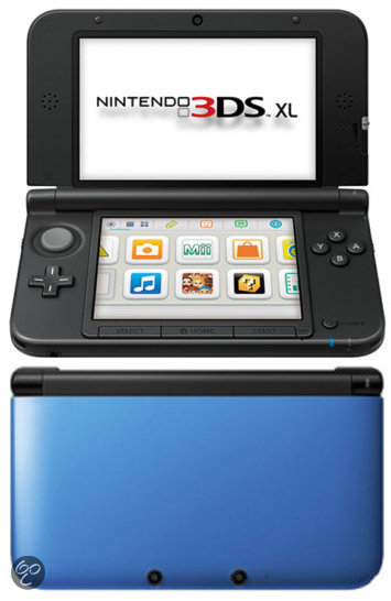 Nintendo 3DS XL Zwart + Blauw