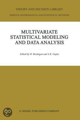 Statistical multivariate techniques modern pdf