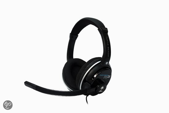 Turtle Beach Ear Force PX21 Wired Stereo Gaming Headset - Zwart (PS3 + PS4 + Xbox One + Xbox 360 + PC + Mac)