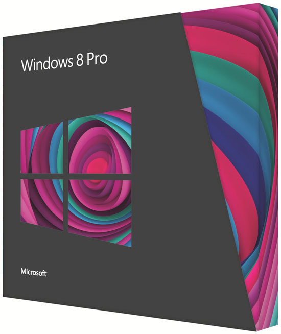 Microsoft Windows Pro 8 - Nederlands / 32-bit/64-bit / VUP / DVD