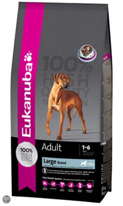 Eukanuba Dog Adult Large Breed Hondenvoeding - 15 kg