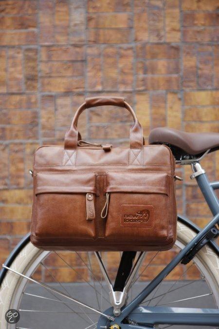 Schoudertas Als Fietstas : Bol new looxs apache leer enkele fietstas