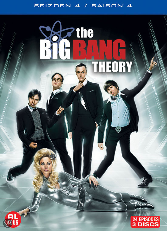 Big Bang Theory, The - Seizoen 4 (Dvd)