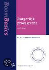 Burgerlijk procesrecht + www.boombasics.nl