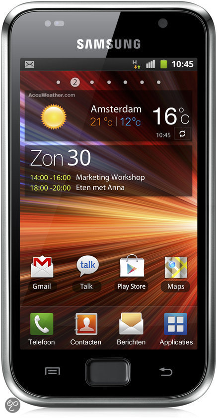 Samsung Galaxy S Plus (I9001) - Metallic Black