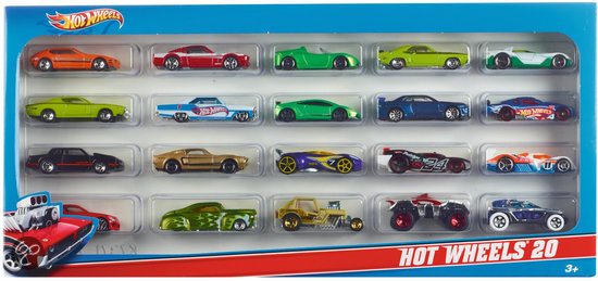 Hot Wheels Auto Cadeauset (20 stuks)