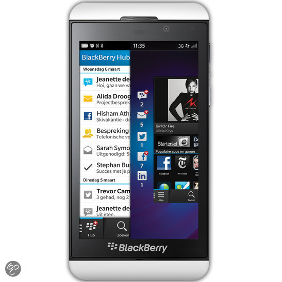 BlackBerry Z10 - Wit