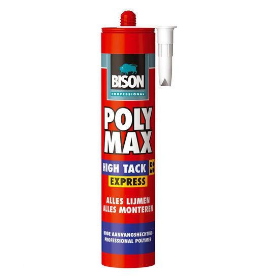 bolcom bison poly max174 high tack express wit 435g