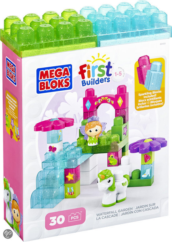 First builders lil 39 princess waterfall garden for Builders first